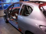 Rolkooi: Peugeot Cup 206 GTI